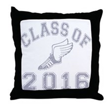 Class of 2016 Track & Field Throw Pillow