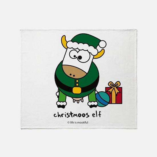 Christmoos Elf Throw Blanket
