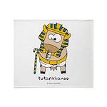 Tutankhamoo Throw Blanket