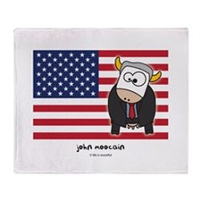 john moocain Throw Blanket