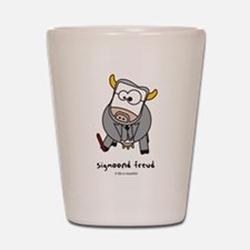 sigmoond freud Shot Glass