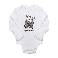 sigmoond freud Long Sleeve Infant Bodysuit