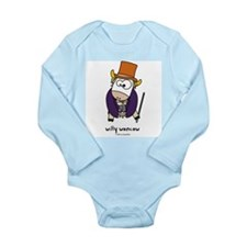 willy woncow Long Sleeve Infant Bodysuit