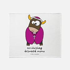 desmond mumu Throw Blanket