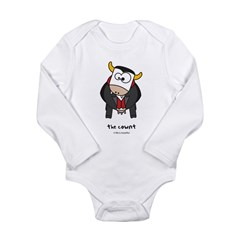 the cownt Long Sleeve Infant Bodysuit