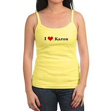 I Love Karon Jr.Spaghetti Strap