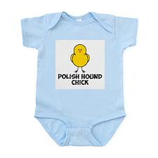 Polish Hound Chick Infant Bodysuit
