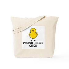 Polish Hound Chick Tote Bag
