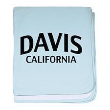 Davis California baby blanket