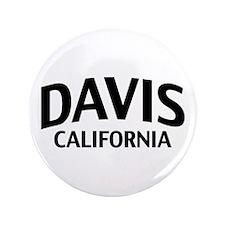 """Davis California 3.5"""" Button"""