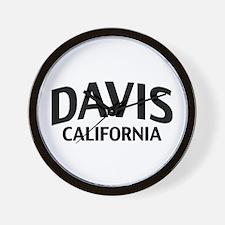 Davis California Wall Clock