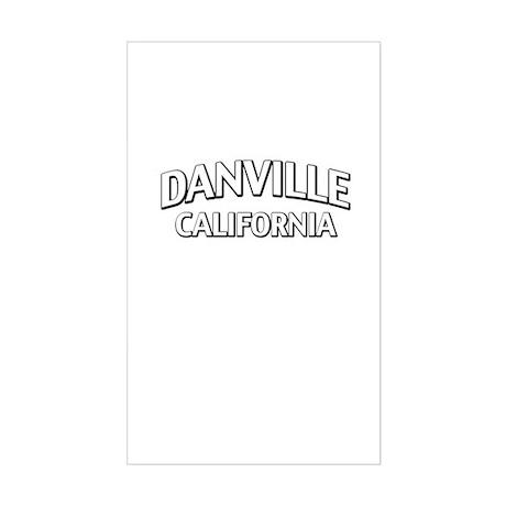 Danville California Sticker (Rectangle)