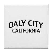 Daly City California Tile Coaster