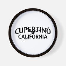 Cupertino California Wall Clock