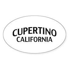 Cupertino California Decal