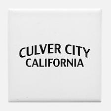 Culver City California Tile Coaster