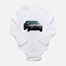 Pontiac firebird 2 Long Sleeve Infant Bodysuit