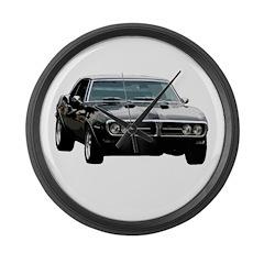 Pontiac firebird 2 Large Wall Clock