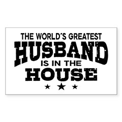 The World's Greatest Husband Decal
