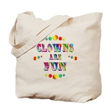 Clowns are Fun Tote Bag