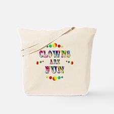 Clowns are Fun Tote Bag