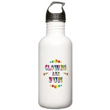 Clowns are Fun Water Bottle