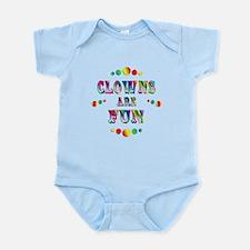 Clowns are Fun Infant Bodysuit