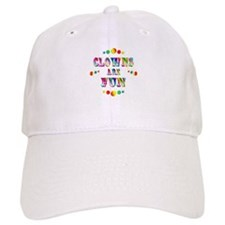 Clowns are Fun Baseball Cap