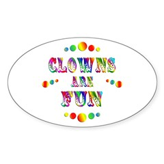 Clowns are Fun Decal