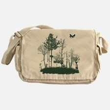 A Natural Band Messenger Bag
