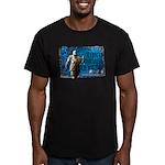Men's Fitted Tokugawa Ieyasu T-Shirt (dark)