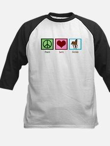 Peace Love Horses Tee