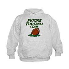 Unique Kids football Hoodie