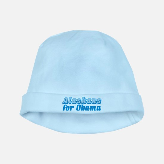 Alaskans for Obama baby hat