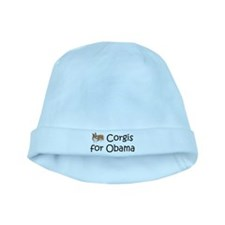 Corgis for Obama baby hat