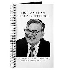 Dr. Warren Carroll Journal