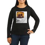 For Businesses Women's Long Sleeve Dark T-Shirt