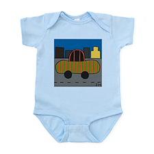 Stripey Car Infant Creeper