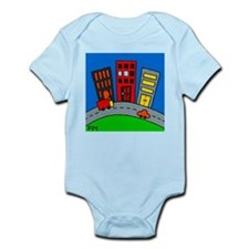 Cityscape Infant Creeper