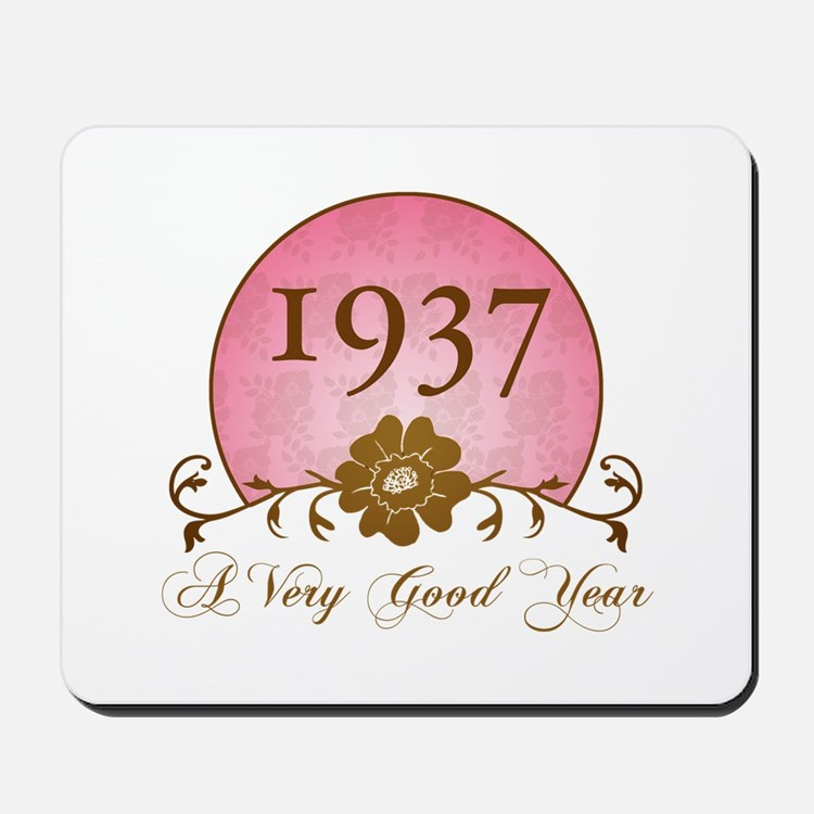 1937 A Very Good Year Mousepad