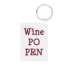 Wine PO PRN Keychains
