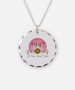 1947 A Very Good Year Necklace