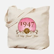 1947 A Very Good Year Tote Bag