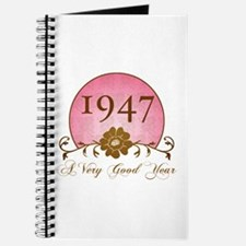 1947 A Very Good Year Journal