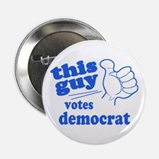 """This Guy Democrat 2.25"""" Button"""
