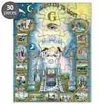 Masonic Tracing Puzzle