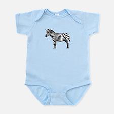 Zebra Infant Bodysuit