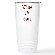 Wine IV Stat Travel Mug