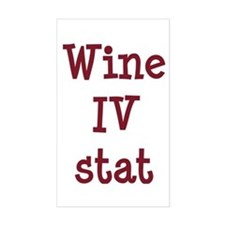 Wine IV Stat Decal