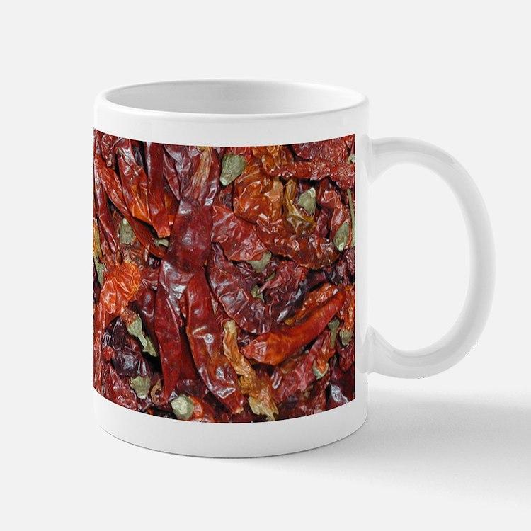 Dried, Red Peppers Mug